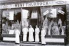 The West Thurrock No.2 branch shop in 1900