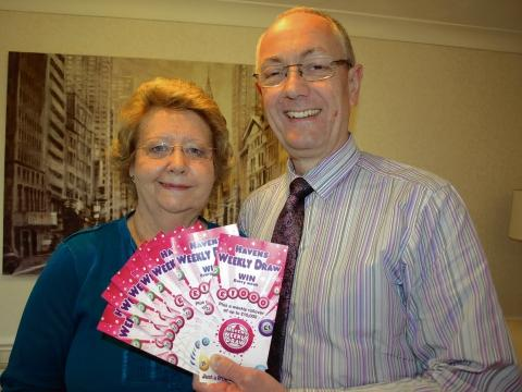 Geoff and Pauline Stow