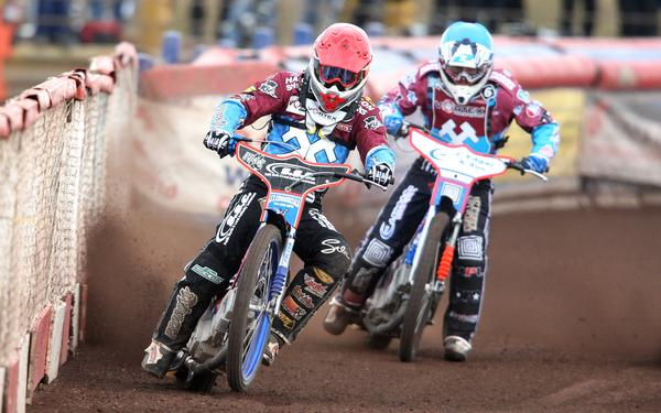 Thurrock Gazette: Birmingham Brummies cannot cope with Vortex Hammers' track power