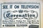 Notices of coronation events in the Gazette
