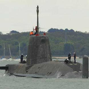 The fleet of four Vanguard-class submarines which carry the Trident missiles are due to be replaced from 2028