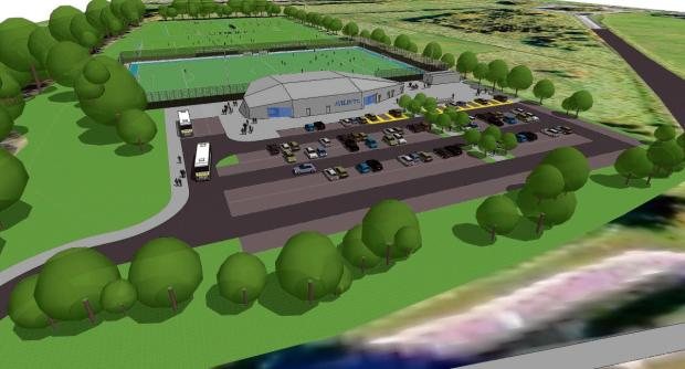 Aveley Football Club's plans for a new ground