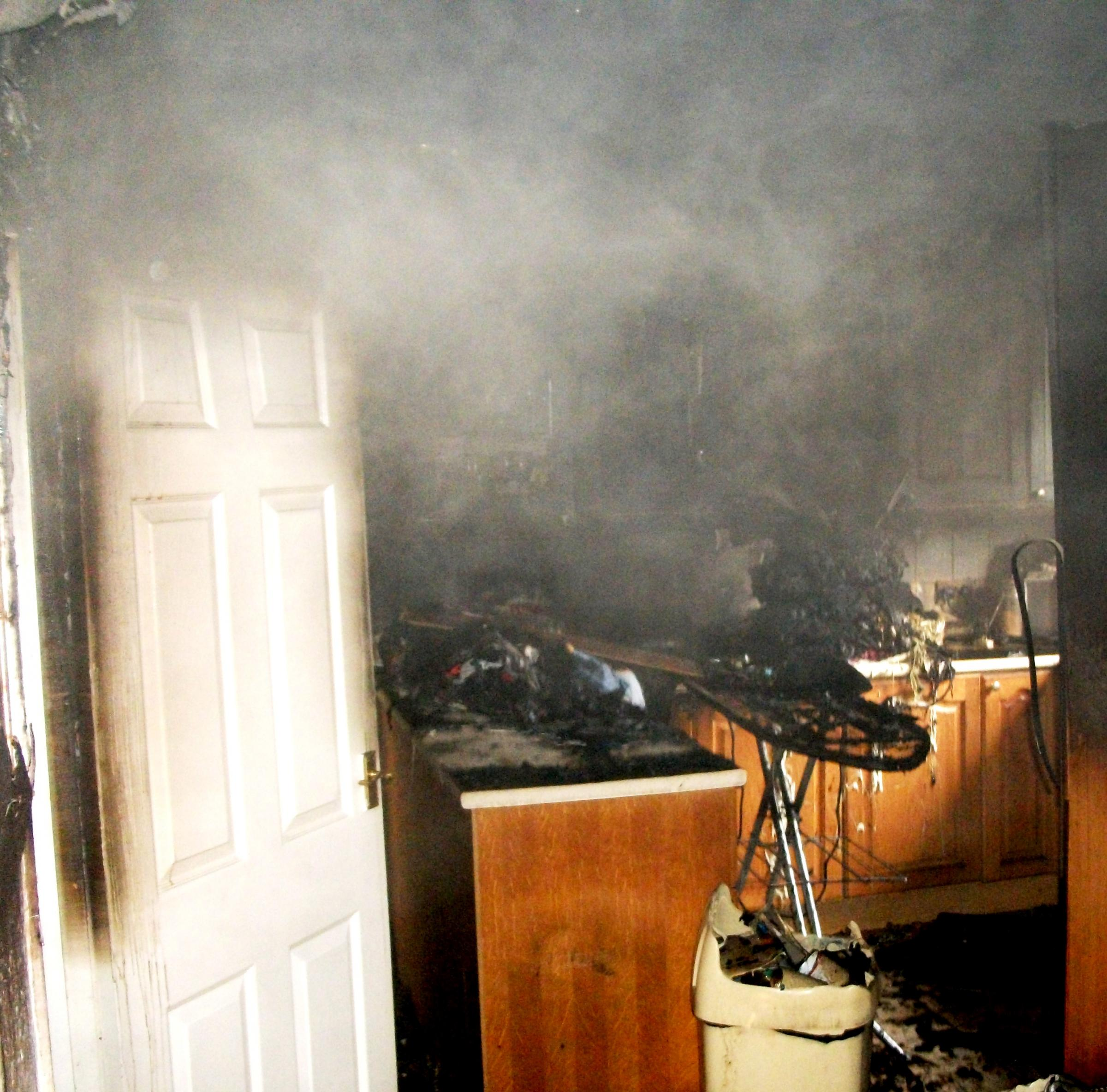Around 56 per cent of house fires start in the kitchen and more than a third start with someone cooking. [This picture is demonstrative and does not show Thursday night's fire in Nursery Road]