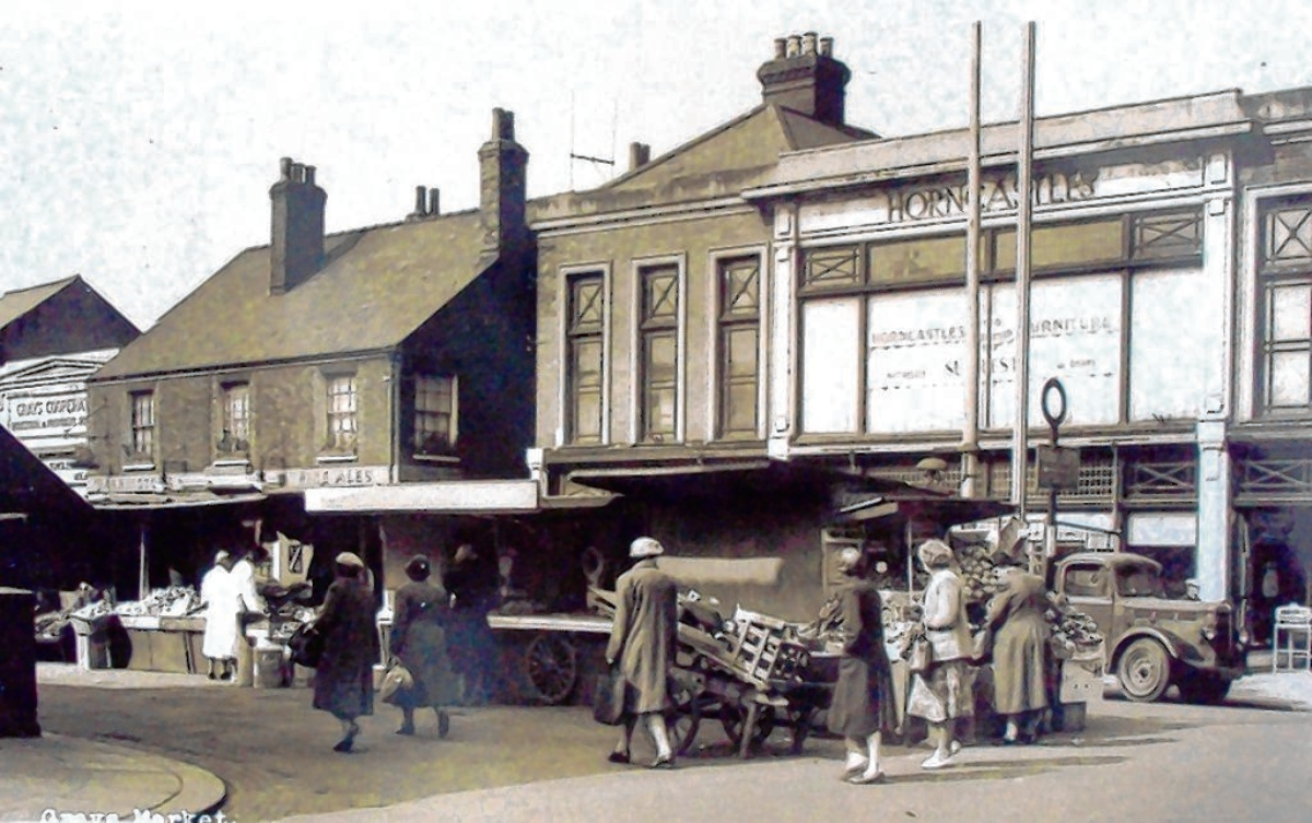 The market back in the 1950s