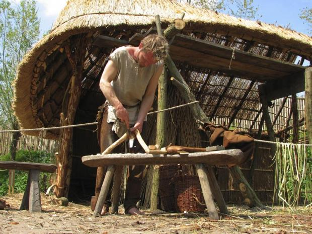 Bronze Age workshops like this could once have stood on the Chadwell site