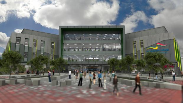 Thurrock Gazette: Grays college will boost economy, says top boss