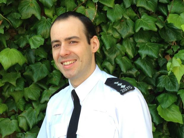 Thurrock District Commander Ben Hodder