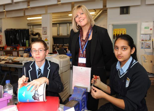 Nicola Graham, headteacher of the Harris Academy, one of Thurrock's three teaching schools