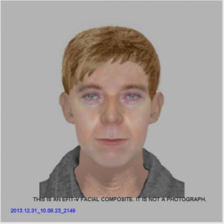 An efit of the man police want to speak to in connection with cruel burglary