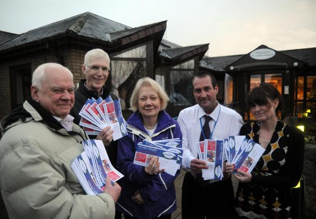 Volunteers from the hospice in Nethermayne have delivered 150,000 donation envelopes to houses around the borough