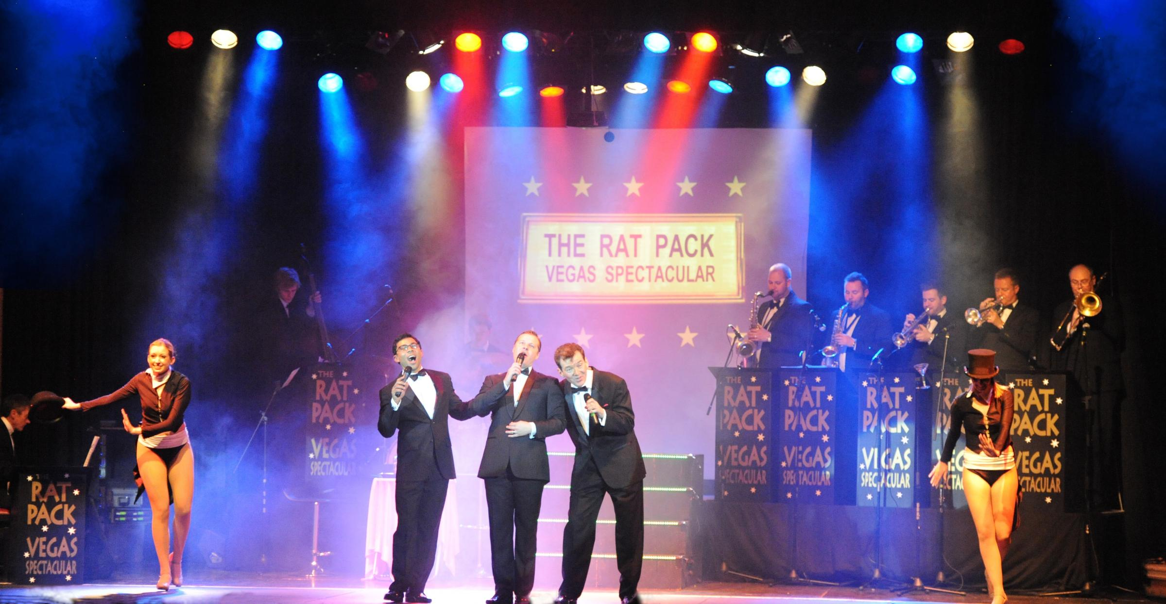 Rat Pack Las Vegas Spectaular is coming to the Thameside Theatre