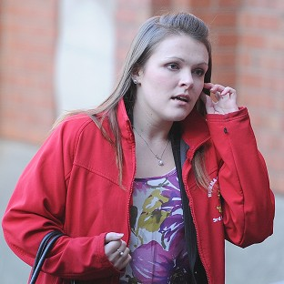 Rosie-Ann Stone arrives at Hull Crown Court