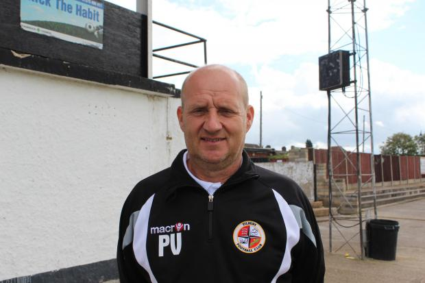 Tilbury boss Paul Vaughan