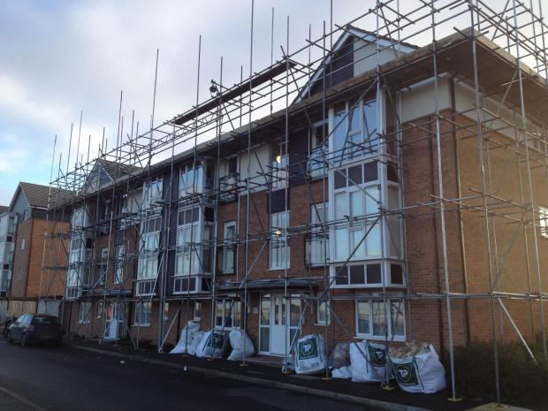 The homes on the Watts Wood Park estate, in Bridgland Road, were signed off after a series of inspections by the National House- Building Council
