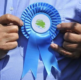 Thurrock Gazette: The Tories are heading for third place in European Parliament elections, according to a poll