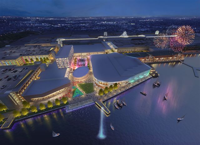 Lakeside's £100million leisure plans rubber stamped by planning officers