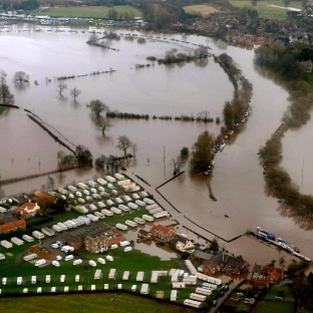 Thurrock Gazette: With saturated ground, forecasters say the public should be aware of the likelihood of localised flooding