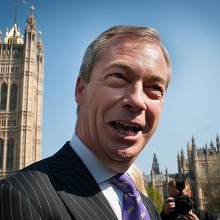 Thurrock Gazette: Ukip leader Nigel Farage has pledged a clearout of the 'barmy' element in his party