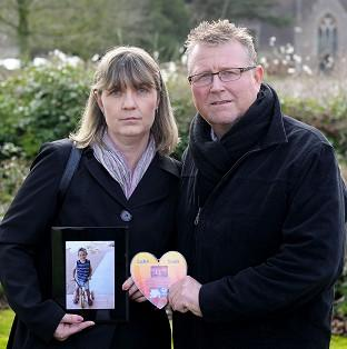 Thurrock Gazette: Steve and Yolanda Turner with a picture of their son Sean