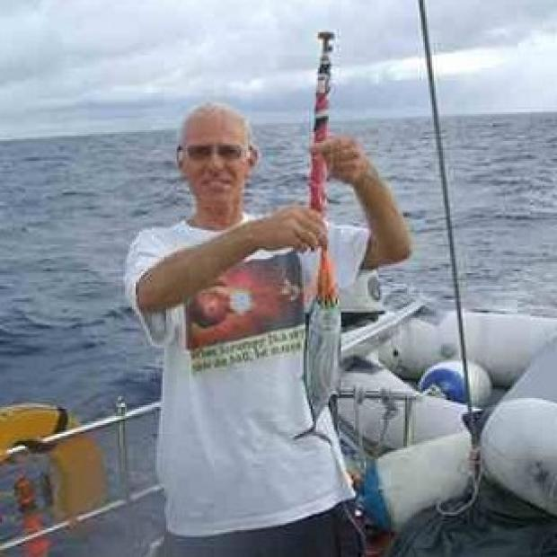 Thurrock Gazette: Roger Pratt, 62, died defending his wife Margaret, when attackers boarded their boat in St Lucia