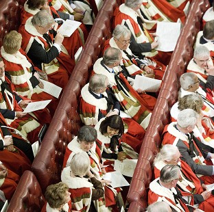 The House of Lords voted to block the referendum Bill