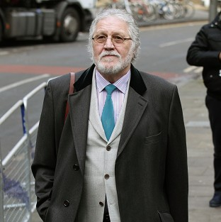 Former DJ Dave Lee Travis was described as a larger-than-life character