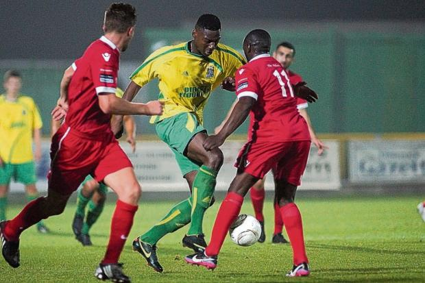 Ricardo Santo in his Thurrock FC days