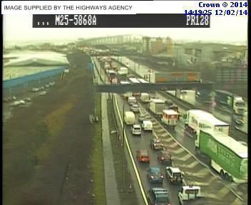 Thurrock Gazette: m25 traffic