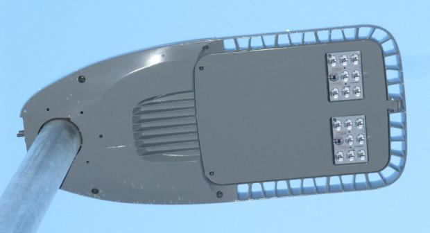 LED streetlights, similar to these pictured, are to be installed in Thurrock over the next twi years