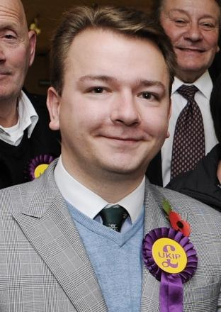 Tim Aker - Confident of building on Ukip success in 2015