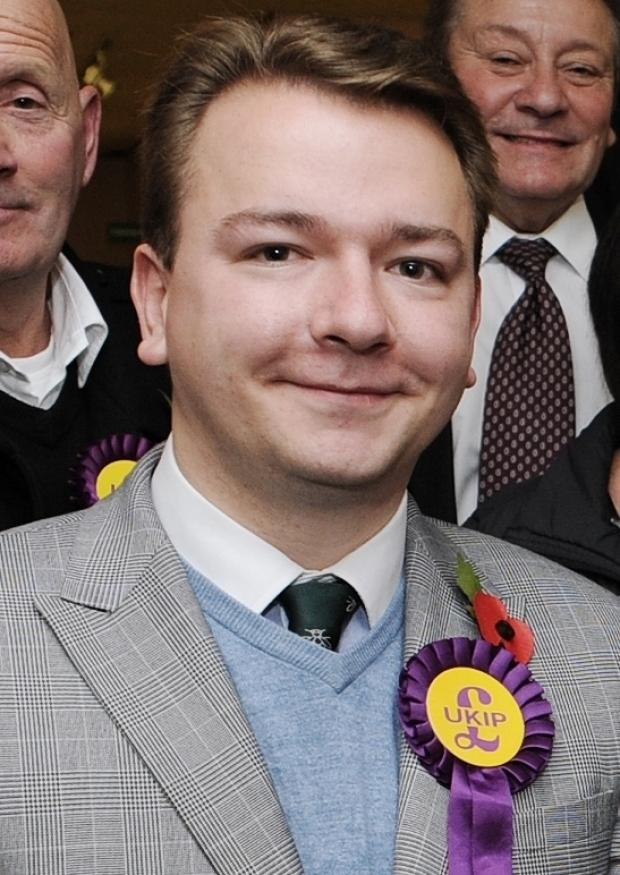 Thurrock Gazette: Tim Aker - Confident of building on Ukip success in 2015