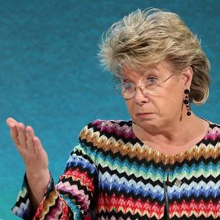 Viviane Reding said the
