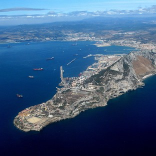 A Spanish warship disrupted a Royal Navy training exercise in waters around Gibraltar