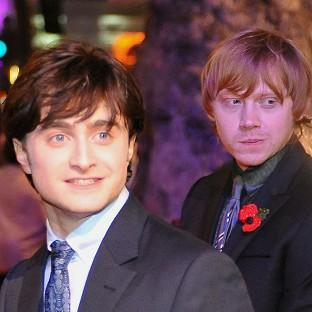 Rupert Grint was named the London newcomer of the year - an award Daniel Radcliffe won previously for Equus