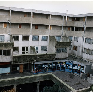It was possible to cross the Broadwater Farm estate without descending to street level, the court heard