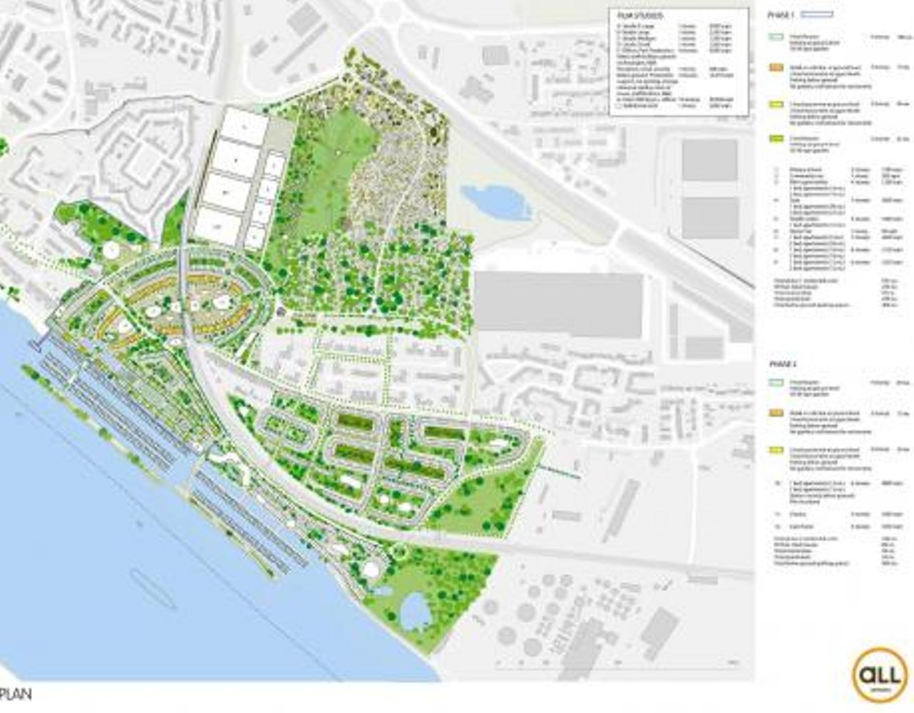 The plans - ambitious proposals for the regeneration of Purfleet