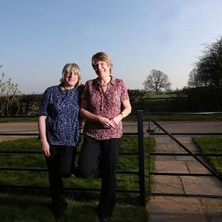 Celia Kitzinger (left) and Sue Wilkinson (right) who lost