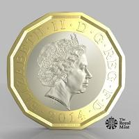 Thurrock Gazette: The new one pound coin announced by the Government will be the most secure coin in circulation in the world (HM Treasury/PA)