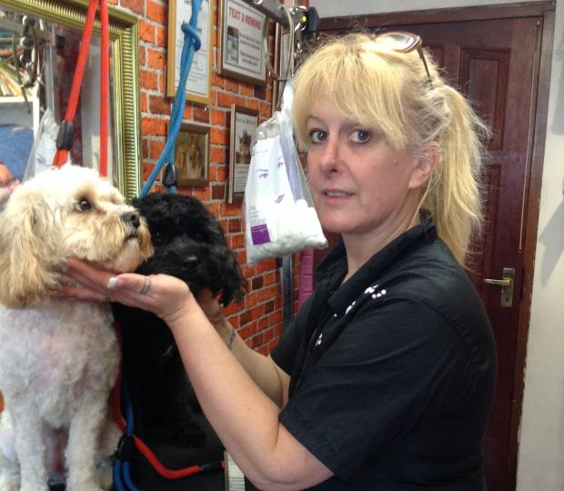 Looking forward to the borough's future – Tilbury dog groomer Lynn Lazenby