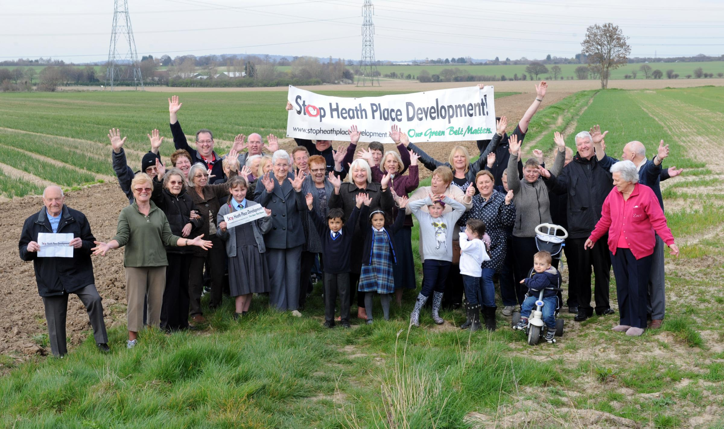 We won – campaigners are chuffed with their victory