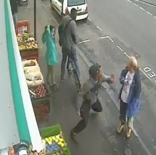 The single punch thrown by Lewis Gill which killed Andrew Young was caught on CCTV