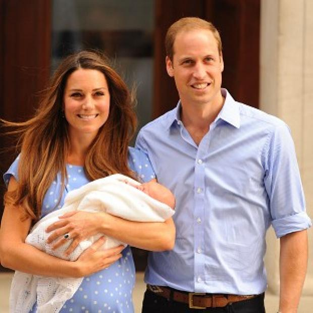 Thurrock Gazette: William and Kate are said to be delighted nanny Maria Teresa Turrion Borrallo has decided to join their royal household to look after Prince George