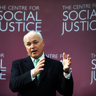 Iain Duncan Smith launched the Centre for Social Justice when he was Conservative leader a decade ago