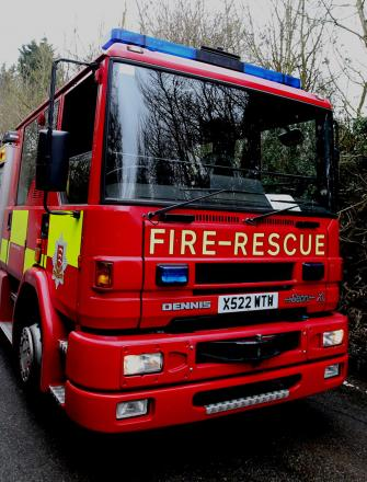 Essex Fire and Rescue attended the blaze