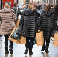 Retail sales up as shoppers return