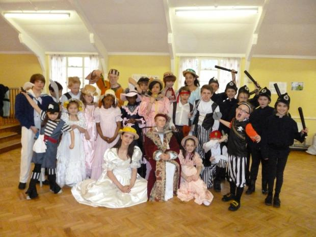 They're the Tops – the young cast of the Pirates of Penzance