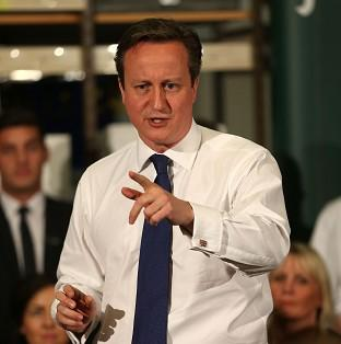Thurrock Gazette: Prime Minister David Cameron will take part in a question and answer session with employees