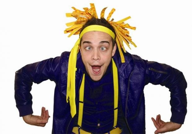 Party time – the popular kids entertainer Jimbo is among performers for four days of fun