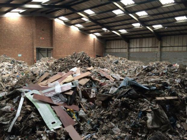 Thurrock Gazette: One of the warehouses in Grays targeted in March