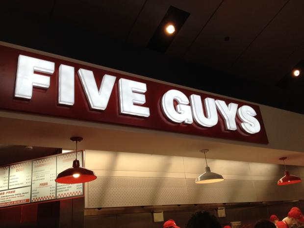 Washington DC-based Five Guys has opened seven restaurants acrossEngland since its first in Covent Garden last summer